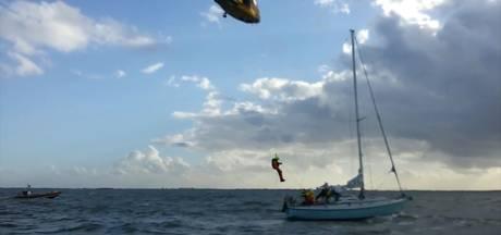 Reddingsbrigade rukt uit voor zeilboot in nood