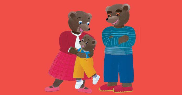 Claude Lebrun avait inventé le personnage Petit ours brun dans les années 1970.