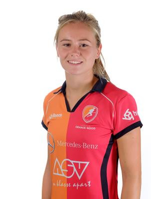 Freeke Moes, hockeyster Oranje-Rood