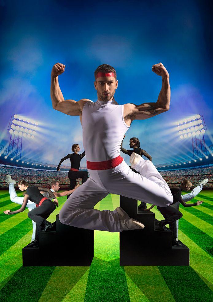 Introdans danst 'Grupo Sportivo'.