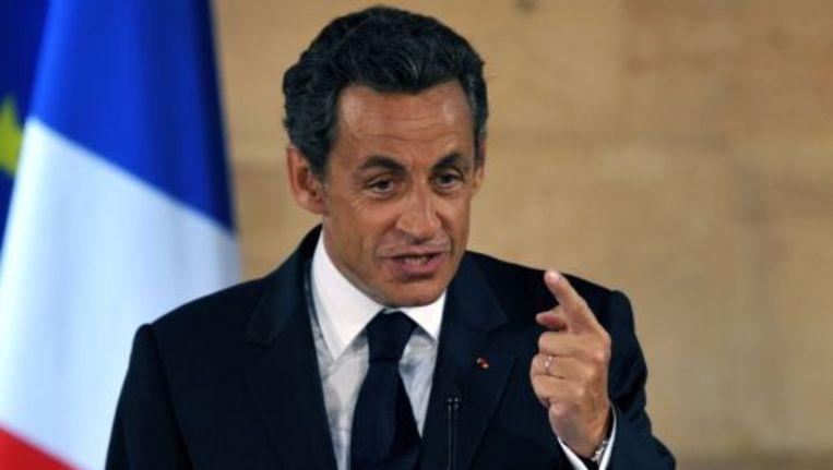 Nicolas Sarkozy. ANP Beeld