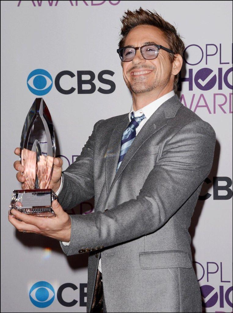 Robert Downey Jr. op de People's Choice Awards