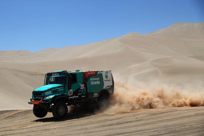 Gerard de Rooy tijdens de Dakar Rally.