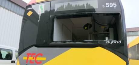 Un bus des TEC cible de coups de feu à Liège