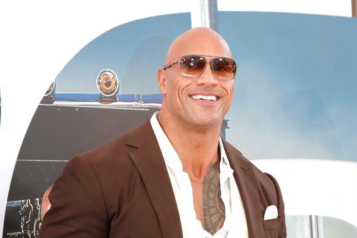 Dwayne 'The Rock' Johnson is de best betaalde acteur van het afgelopen jaar.