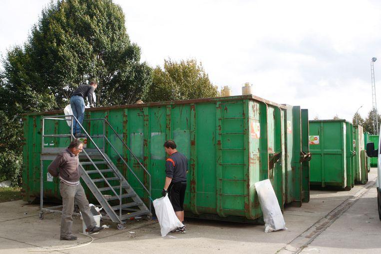 TIENEN-containerpark