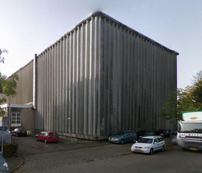 Het voormalige koelhuis Campina in Eindhoven. foto Google Streetview