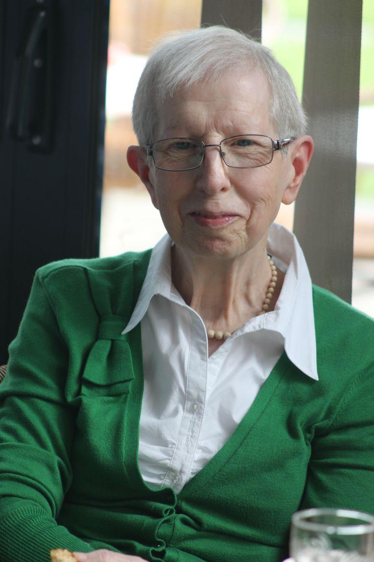 Gaby Mols, ere-voorzitter K.F. Sint Jansvrienden Wiekevorst