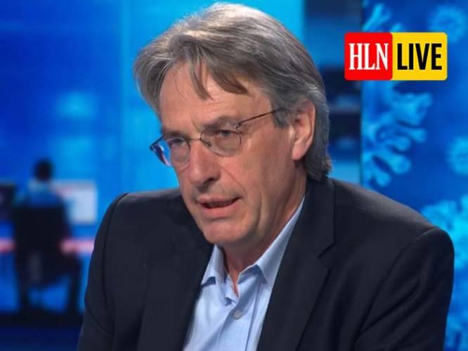 """LIVE. """"Derde golf kunnen we wellicht niet vermijden: we zitten op kantelmoment"""", waarschuwt professor Herman Goossens bij VTM NIEUWS"""