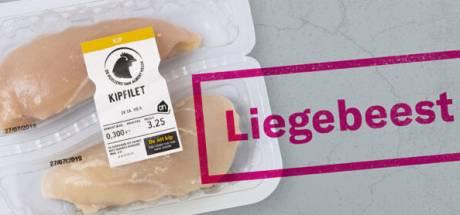 Wakker Dier: AH weer 'Liegebeest van het jaar' vanwege leugen op kipverpakking