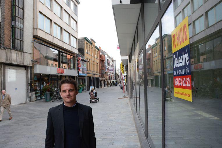 Volgens Filip Kegels is de leegstand een tijdelijk fenomeen door de vele bouwprojecten in het winkelcentrum.