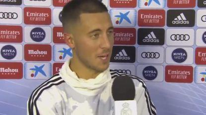 """Eden Hazard: """"Hopelijk vandaag het begin van iets moois"""""""