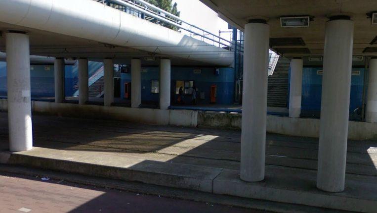 Omgeving van station Moerwijk Beeld Google Streetview