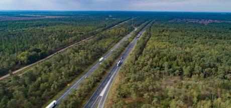 Noord-Veluwse gemeenten willen 'geen rigoureuze' bomenkap langs snelweg A28
