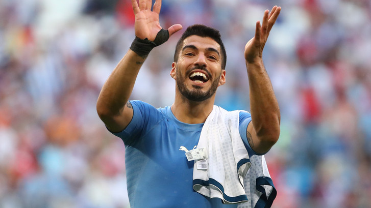 Uruguay wint poule A na overtuigende zege op Rusland
