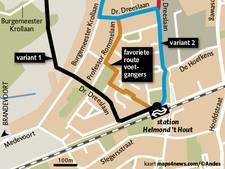 Gesteggel over fietspad tussen Automotive Campus en station Helmond 't Hout