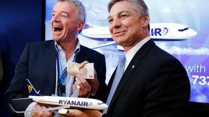 """""""Akkoord Ryanair met Boeing over compensatie van honderden miljoenen"""""""