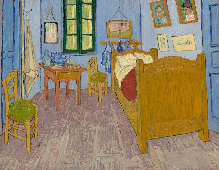 'De slaapkamer' in het Musée d'Orsay. Beeld Wikipedia