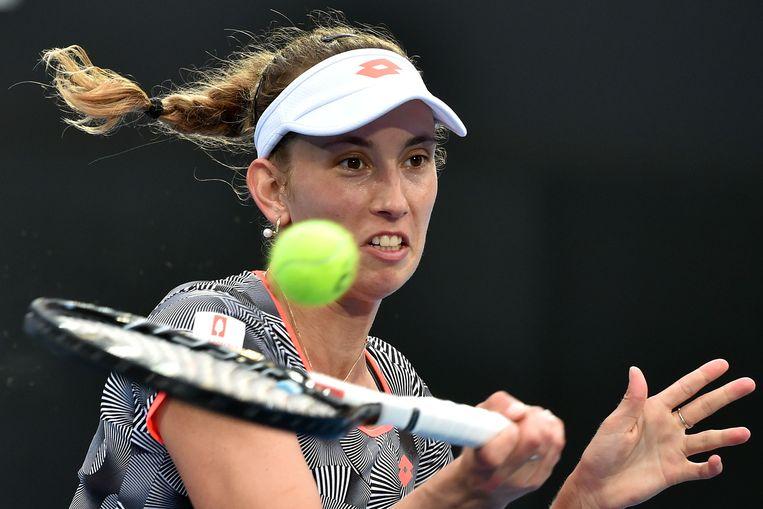 Elise Mertens ging er in Sydney in de kwartfinales uit.