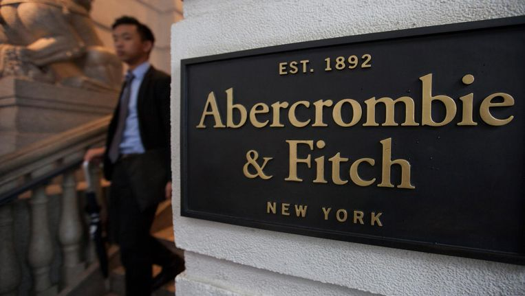 Het kantoor van Abercrombie & Fitch in New York. Beeld epa