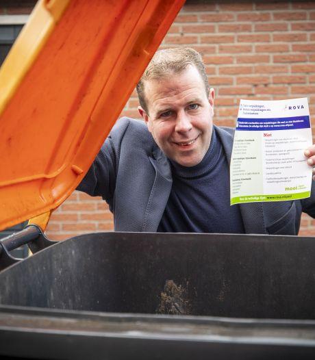 Heeft Tubbergen die sticker op de pmd-container straks te danken aan raadslid Leon Oosterik?