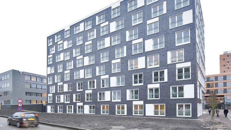 Studentencomplex Frajilemaborg in Amsterdam. © ANP Beeld