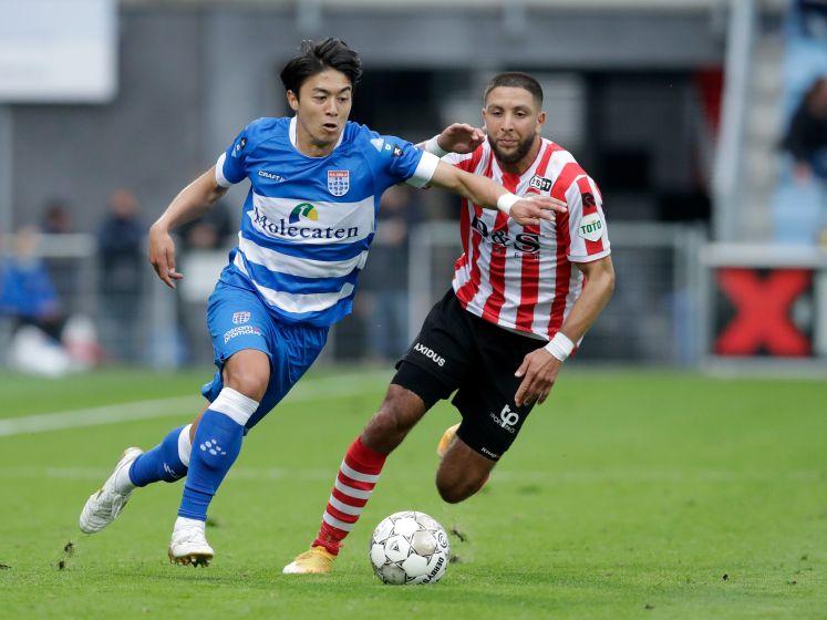 Samenvatting: PEC Zwolle - Sparta Rotterdam