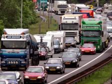 ANWB waarschuwt voor vrijdagse drukte op A12 en A50 bij Arnhem