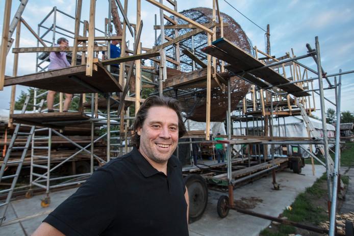 Ontwerper Michel Zegveld van bouwgroep Skon in Heeze