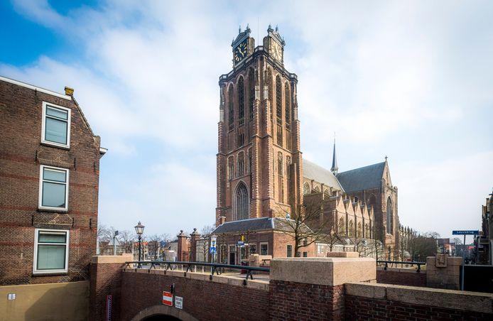 De Grote Kerk in Dordrecht.