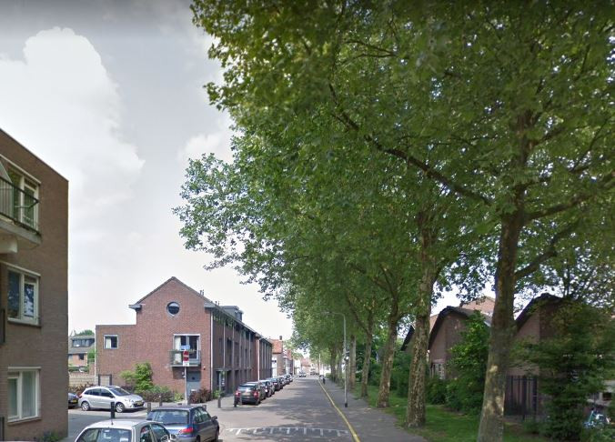 De vrouw werd aangereden in de Buitenstraat in Tilburg.