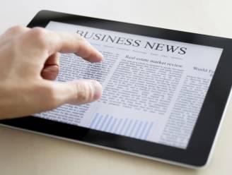 Digitale krant kent prille doorbraak