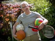 Rob Morssinkhof voor het laatst actief op sportdag Oldenzaalse basisscholen