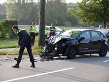 Auto's zwaar beschadigd bij ongeval in Ossendrecht