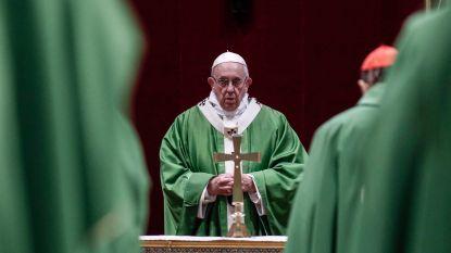 Paus belooft einde van doofpotaffaires rond seksueel misbruik in de Kerk