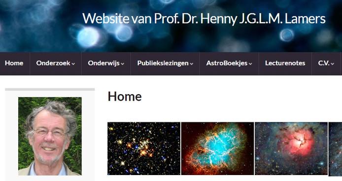 Website van emeritus-prof. Henny Lamers