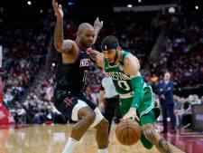 Imposante reeks Boston Celtics halt toegeroepen door Houston Rockets