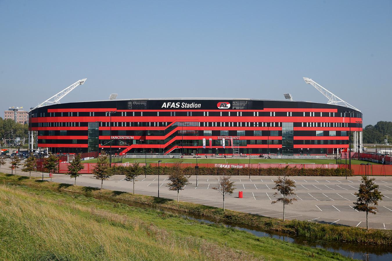Het AFAS stadion van AZ.