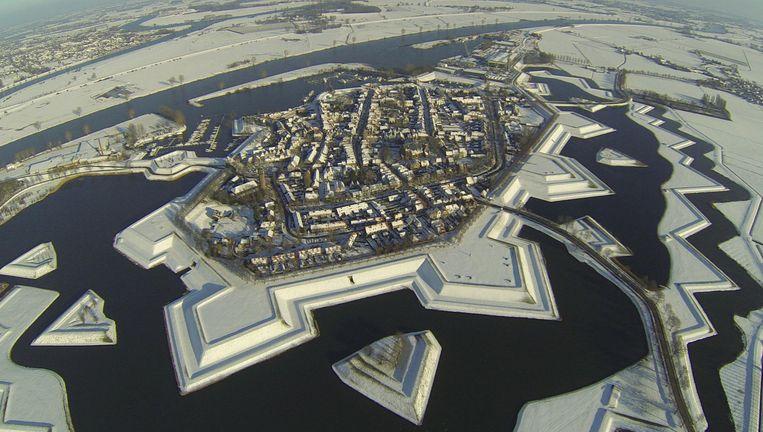 Luchtfoto van Heusden Beeld Fotoarchief HBT Heusden