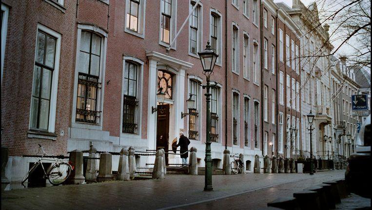 De Wetenschappelijke Raad voor het Regeringsbeleid, gehuisvest aan de Lange vijverberg in Den Haag. Beeld Martijn Beekman / de Volkskrant