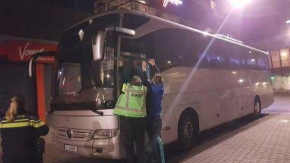 Bus met toeristen beschoten in Amsterdam