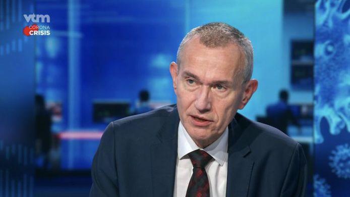 Minister van Volksgezondheid Frank Vandenbroucke (sp.a).