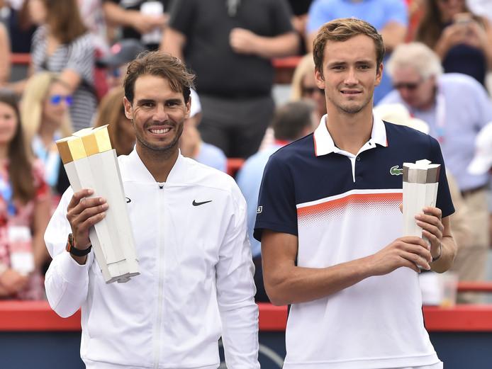 Rafael Nadal et Daniil Medvedev se sont déjà affrontés cet été en finale du tournoi de Montréal le 11 août 2019. L'Espagnol s'était imposé 6-3, 6-0.