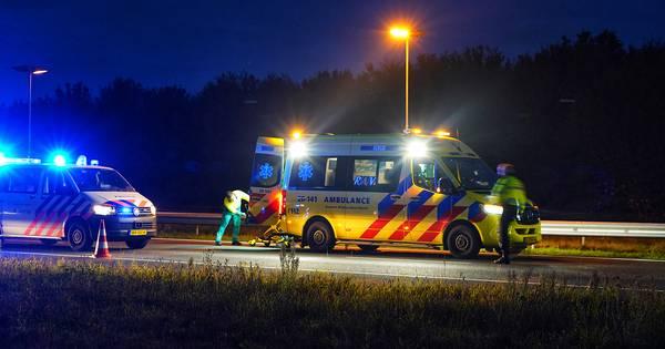 Veel vertraging' op A58 bij Gilze na eenzijdig ongeluk.
