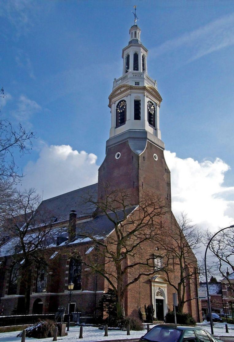 De Grote Kerk in Nijkerk, de plek van de Beroeringen. Beeld Wikimedia Commons