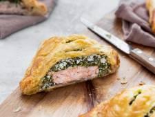 Wat Eten We Vandaag: Zalmpakketjes met spinazie