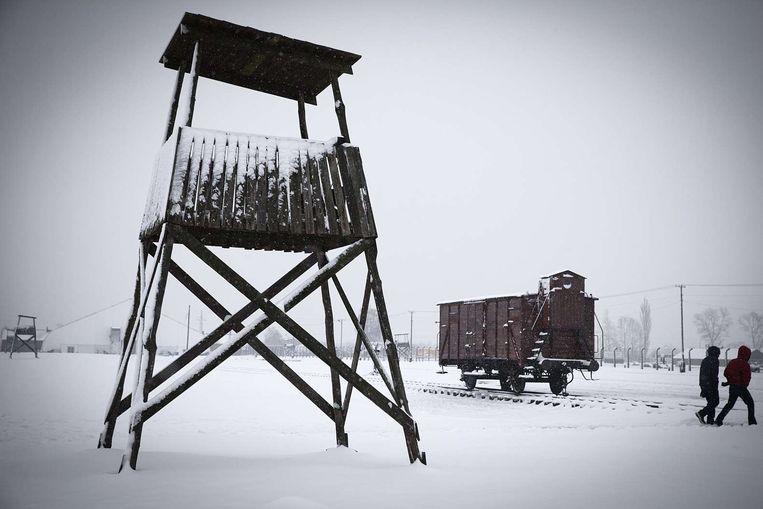 Auschwitz-Birkenau in Oswiecim, Polen. Beeld afp