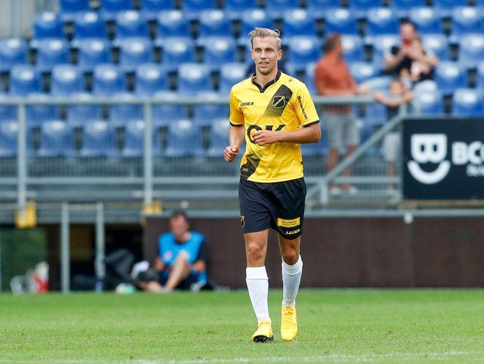 01-08-2020: Voetbal: NAC v SC Heerenveen: Breda goalscorer Finn Stokkers of NAC