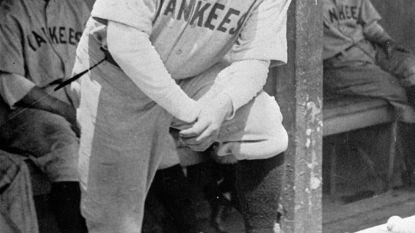 Shirt van legendarische Babe Ruth voor recordprijs onder de hamer