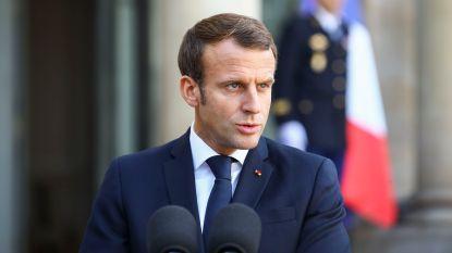 """Macron betreurt Europese """"politieke crisis"""""""